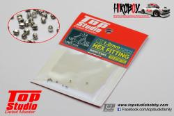 1.2mm Metal Hex Fitting  (10 off) - TD23210