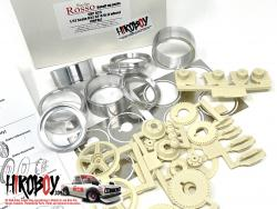 1:12 Gr.A Wheel set (IMPAL) Wheels/Brakes for Fujimi Nissan Skyline R32 GT-R