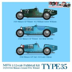 1:12 Bugatti Type 35 Full Detail Kit