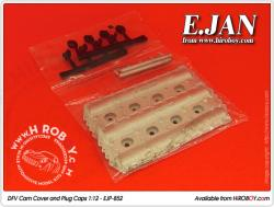 1:12 DFV Cam Cover and Plug Caps - EJP-852