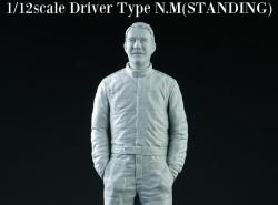 1:12 Driver Figure Nigel Mansell - Standing