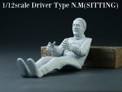 1:12 Driver Figure Nigel Mansell - Sitting