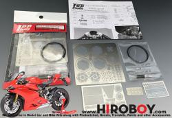 1:12 Ducati 1199 Panigale S Detail up Set (Top Studio)