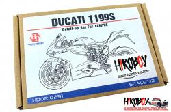 1:12 Ducati 1199 Panigale S Photoetched Detail up Set