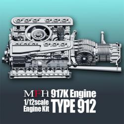 1:12 Porsche 917K Type 912 Engine Kit