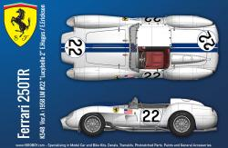 1:12 Ferrari 250 TR (Pontoon) Version A - Full Multi Media Kit