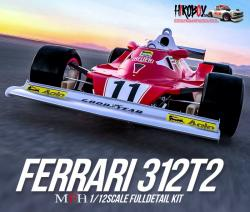 1:12 Ferrari 312T2 '77 Ver.A : 1977 Rd.3 South African GP / Rd.4 U.S.West GP