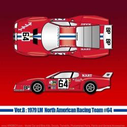 1:12 Ferrari 512BB LM Ver.B [1979 LM North American Racing Team #64]