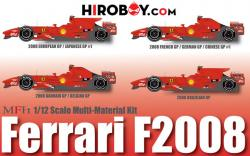 1:12 Ferrari F2008 ver.B French GP/ German GP/ China GP