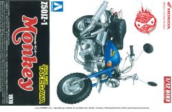 1:12 Honda Monkey Custom (Takegawa Parts) Z50JZ-1