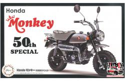 1:12 Honda Monkey 50th Anniversary Special MonoChrome