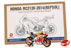 1:12 Honda RC213V Repsol Super Detail up set for Tamiya (HD02-0340)