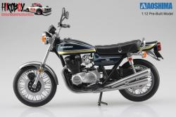 1:12 Kawasaki 750RS (Z2) Tamamushi Blue (Pre-Built Model)
