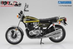 1:12 Kawasaki 750RS (Z2) Yellow Tiger (Pre-Built Model)
