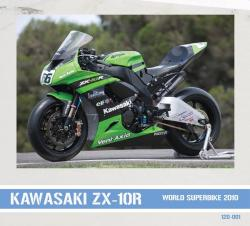 1:12 Kawasaki ZX10R Official WSBK Team 2010 Decals