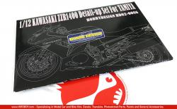 1:12 Kawasaki ZZR1400 Detail up Parts (PE+Metal)
