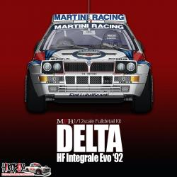 1:12 Lancia Delta Integrale Evo '92  - Full  Detail Multi-Media Kit