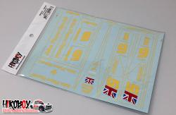 1:12 Lotus 78 JPS (John Player Special) Full Decals (Tamiya)