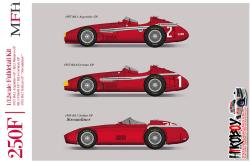 1:12 Maserati 250F Full Detail Kit -  Ver.C : 1957 Rd.4 French GP Winner/Rd.6 German GP Winner