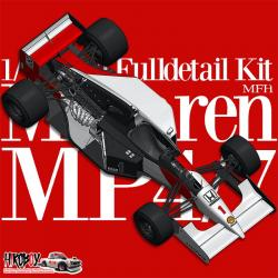 1:12 McLaren MP4/7 Ver.A : 1992 Rd.6 Monaco GP Winner #1 A.Senna / #2 G.Berger