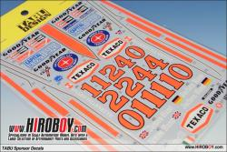 1:12 Mclaren M23  1976 & 1977 Sponsor Decals For Tamiya