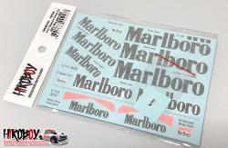 1:12 Mclaren M26 Marlboro Sponsor Decals (for MFH)