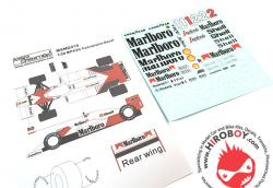 1:20 Mclaren MP4/2C 1986 Conversion Decals (Beemax)