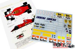 1:12 Ferrari 641/2 Decals (for Tamiya)