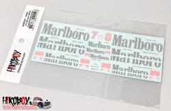 1:12 Mclaren MP4/8 Marlboro Sponsor Decals (for MFH)