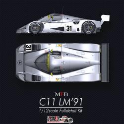 1:12 Mercedes-Benz C11 LM'91 - Full Detail Multi - Media Kit