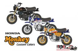 1:12 Honda Monkey 125 Custom Decals