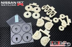 1:12 Brembo Brake Set for Fujimi Nissan Skyline R32 GT-R