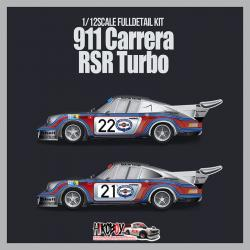 1:12 Porsche 911 Carrera RSR Turbo Ver.A : 1974 LM 24hours 2nd No.22 G.v.Lennep / H.Müller