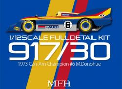1:12 Porsche 917/30 Full Detail Multi Media Model Kit