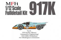 1:12 Porsche 917K Ver.B 1970 Sarthe 24 hours [Automotive Engineering] Gulf