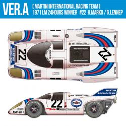1:12 Porsche 917K - Ver A 1971 LM 24 hours Winner [Martini International Racing Team] #22 H.Marko / G.Lennep