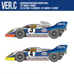 1:12 Porsche 917K - Ver C 1971 Monza 1,000km [Martini International Racing Team] #3 V.Elford/G.Larrousse #4 H.Marko / G.Lennep