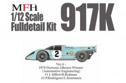 1:12 Porsche 917K Ver.A 970 Daytona 24hours [Automotive Engineering] Gulf