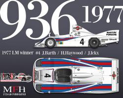 1:12 Porsche 936/77 - Full Detail Multi Media Kit