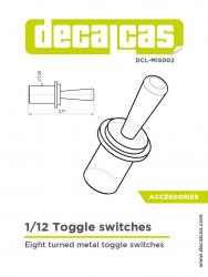 1:12 Toggle Switches