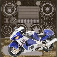 1:12 Suzuki Hayabusa GSX1300R Photoetched Set #4225