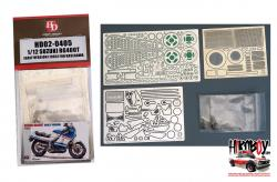1:12 Suzuki RG400T Early Version(1985) Detail Up Set for Hasegawa