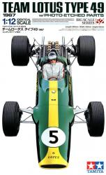 1:12 Team Lotus Type 49 1967 (c/w Photoetched Parts) (Lotus 49)
