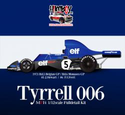 1:12 Tyrrell 006 - Full Detail Multi-Media Kit