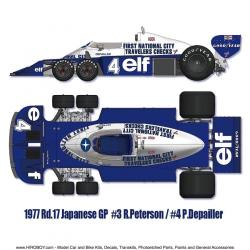 1:12 Tyrrell P34 1977 Ver. A Full Detail Multi-Media Kit (Pre-Order)