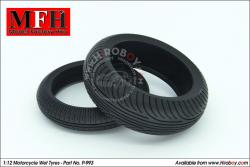 1:12 Wet/Rain Tyres for Motorcycles (Bridgestone)