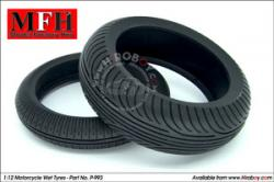 1:12 Wet/Rain Tyres for Motorcycles (Michelin)
