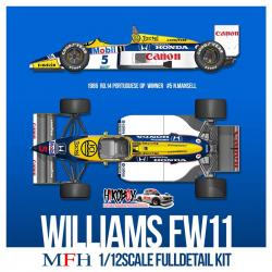 1:12 Williams FW11 - Full Detail Kit
