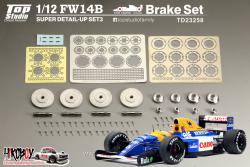 1:12 Williams Renault FW14B  Super Detail-up Set 3 - Brake Set (Tamiya)