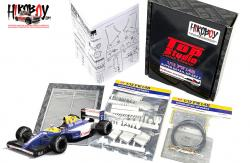 1:12 Williams Renault FW14B  Super Detail-up Set 5 - Radiator and ECU (Tamiya)